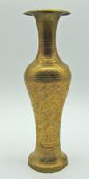 B764 Meseszép india réz váza - hibátlan, szép állapotban