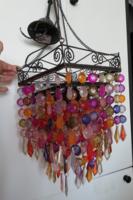 Marokkói színesgyöngy csillár