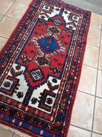 Antik perzsa szőnyeg , gyönyörű színekkel !195 x 95 cm