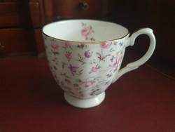 Meseszép Royal Albert Rose Confetti angol csésze