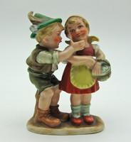 B768 Antik Bertram páros figura - hibátlan, szép állapotban