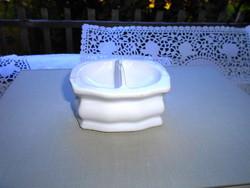 Antik bider porcelán  asztali füszertartó