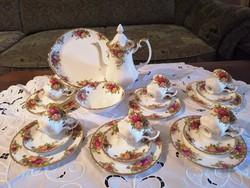 Royal Albert Old Country Roses  kávéskészlet