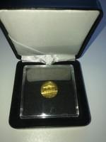 Arany. 10 EURÓ 0.999 es 3.11gr azaz 1/10 uncia