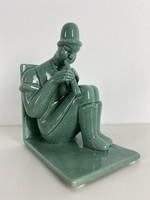 Teljes hagyaték aukción! Gorka Géza art deco figura 1930 körüli. Gyönyörű 1 Ft-ról!