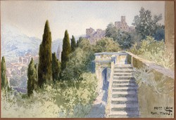 Fritz Lach (1868-1933): Tivoli.