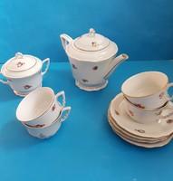 Zsolnay teás készlet , 4  személyes