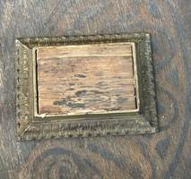 Antik öntöttvas tolltörlő eredeti papírbetéttel
