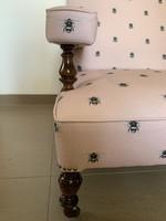 Méhecskés Egyedi designer nagy kényelmes fotel