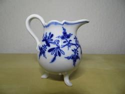 Meisseni porcelán hagymamintás kis tejes kancsó kiöntő 19. századi hibátlan állapotban!