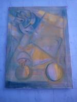 BAKÁNYI GYULA FESTMÉNY 90 x 70 cm