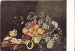 Képeslap / Abraham Hendriksz van Beyeren festménye /