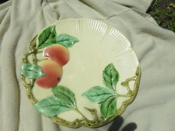 Körmöcbányai majolika tányér 26,5 cm