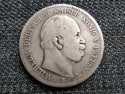 Poroszország I. Vilmos .900 ezüst 2 márka 1876 B (id23360)