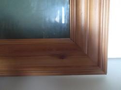 KÉPKERET - ÚJ -  ANGOL - NAGY - FA - EXKLUZÍV - 50 x 40 x 5 cm