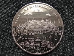 I. József 1 tallér 1705 ezüst érem másolat 1975 Köln városa (id23377)