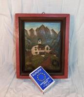 Német festő, miniatűr kép