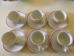 Antik Zsolnay Teás,-kávéskészlet