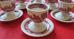Villeroy & Boch Rusticana jelenetes porcelán tojástartó