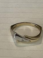 Modern különleges fazonú 14 kr aranygyűrű  eladó!Ara:40000.-