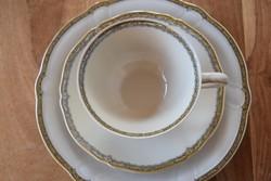 Bavaria Hutschenreuther Selb teás kávás készlet süteményes tányér készlet