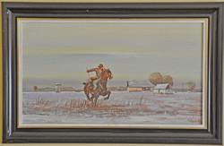 Várkonyi Gyula festménye