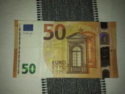 Eladó 1 db !!! 50 eurós bankjegy plusz csillaggal - nyomtatva !! A többi szemléltető bankjegy