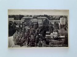 Régi képeslap 1936 Gyula Gróf Almássy kastély levelezőlap