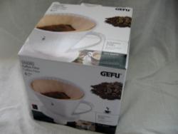 GEFU Sandro 4 16020 porcelán kávéfilter tölcsér