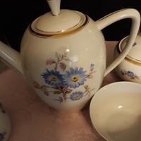 Hollóházi teás készlet hiányos