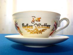 Német feliratos teáscsésze (Bavaria)