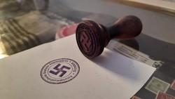 RITKA! Német, náci NSDAP bélyegző!