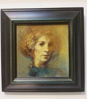 CSÁSZÁR ATTILA Női portré