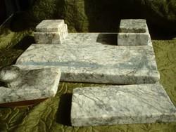 Márvány posztamens,szobor állvány, kalamáris, tapper,levélnehezék