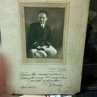 Rősler Endre operaénekes fényképe, ajánlva, aláírva