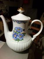 Bavaria Mitterteich porcelán teáskanna aranyozott, hibátlan