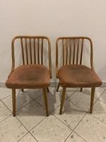 Vintage a javából Csehszlovák JITONA székek