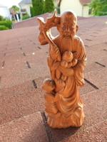 Keleti fafaragás - szent ember  kisfiúval