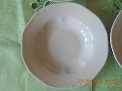Zsolnay barokk mély tányér