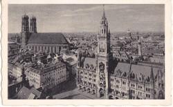 Németország képeslap bélyeggel 1953