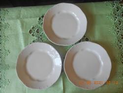 Zsolnay barokk lapos tányér