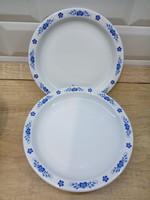Alföldi porcelán kék magyaros desszertes 6db