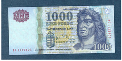2006 1000 Forint DC sorozat EF - aUNC