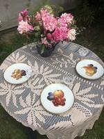 Bavaria gyümölcs mintás tányérok 3db
