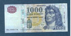 2015 1000 Forint DA sorozat
