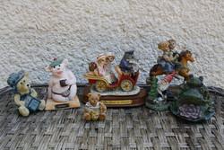 Nippek, kis kerámia figurák