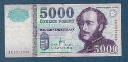 2008 5000 Forint   BB sorozat