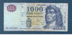 2012 1000 Forint DB sorozat