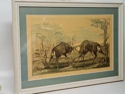 Tuka László Párbaj grafika (1803)