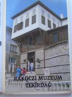 G2021.116 Rákóczi Múzeum TEKIRDAG (Törökország) képeslap leporello  1970-80